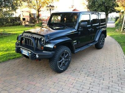 usata Jeep Wrangler Unlimited 2.8 CRD DPF Sahara Au