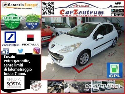 used Peugeot 207 1.4 8v 75cv 3p. energie sport eco gpl benzina/gpl