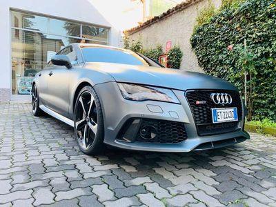 usata Audi RS7 RS7SPB 4.0 V8 TFSIquattro tip FRENI CARBOCERAMICI