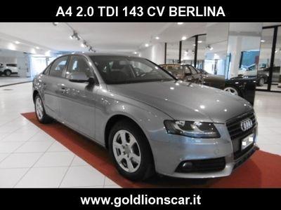 usata Audi A4 2.0 TDI 143CV - BERLINA -