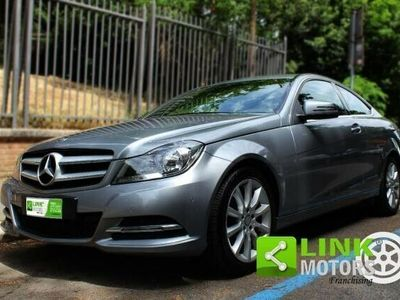 usata Mercedes C180 ClasseCoupe Executive, Benzina, Tagliandi certificati, Full optional, Appena tagliandata, Sempre garage