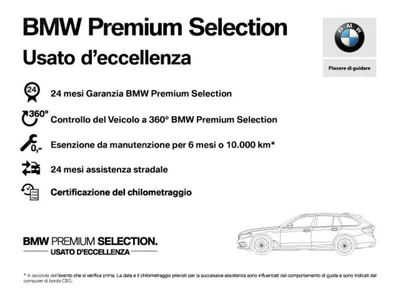 usata BMW 318 Serie 3 d Business Advantage aut. del 2018 usata a Castelfranco Veneto