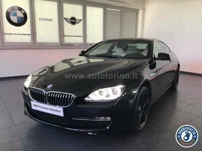 usata BMW 640 SERIE 6 COUPE d Coupe Futura auto