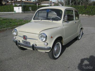 """usata Fiat 600D 750 FANALONA """" ISCRITTA ASI ORO """""""