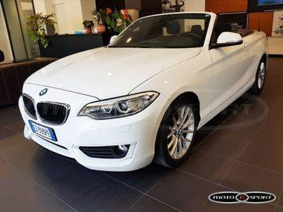usado BMW 218 Serie 2 Cabrio i usato