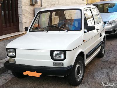 usata Fiat 126 1981 targhe nere