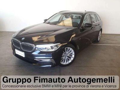 usata BMW 520 d Touring Luxury Aut.