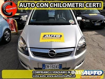 käytetty Opel Zafira 1.6 METANO 7 POSTI 150CV