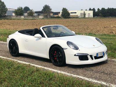 usata Porsche 911 Carrera 4 Cabriolet 991 911 3.8 GTS italiana ventilati
