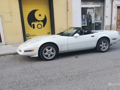 usata Corvette C4 cabrio 5.7 v.8(PERMUTE/SCAMBI)