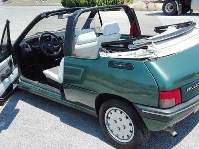used Peugeot 205 CAT Cabriolet Roland Garros Eliomotors Modica Auto Usate