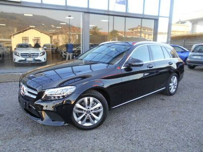 usata Mercedes C200 D 160 Cv Sw Sport,cambio Auto,navi,pdc,restyling