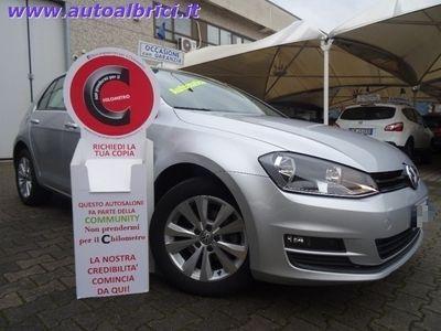 usata VW Golf 1.6 TDI DSG 5 PORTE COMFORTLINE BLUEMOTION USATA TESSUTO GRIGIO EURO 14.800