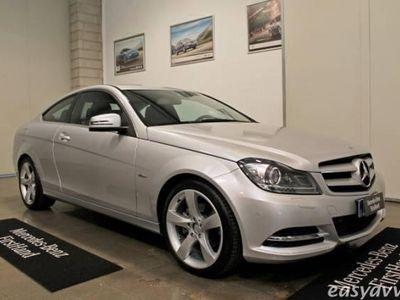 usata Mercedes C220 cdi blueefficiency coupé avantgarde diesel coupè manuale argento