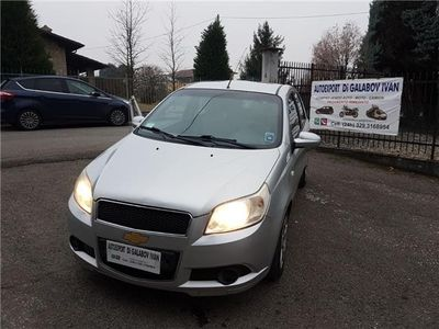 usata Chevrolet Aveo 1.2 Benzina-gpl-neo Patentati-2008 Usato