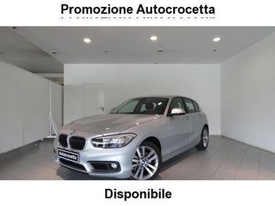 usata BMW 118 d 5 porte Advantage Auto Navy