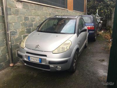 usata Citroën C3 1.4 plueril cabrio tetto da riparare