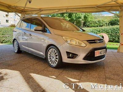 brugt Ford Grand C-Max 7 1.6 TDCi 115CV Titanium NAVI, TETTO, UNIPRO!