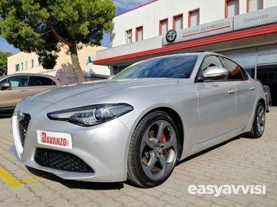 usado Alfa Romeo Giulia 2.2 turbodiesel 180 cv super grigio silverstone diesel