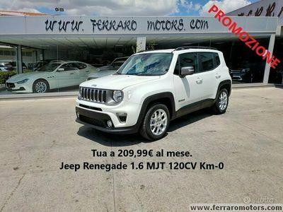usata Jeep Renegade Limited Tua a 209euro al mese