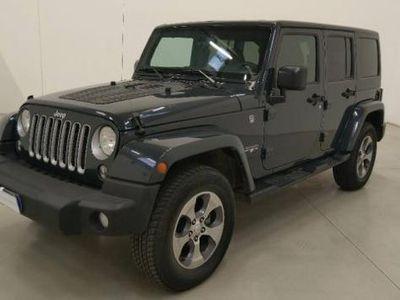 usata Jeep Wrangler Unlimited 2.8 CRD DPF Sahara Auto rif. 12833383