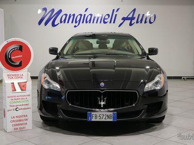 usata Maserati Quattroporte 3.0 V6 Diesel 275CV Certificazione Chilometrica