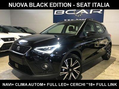 "usata Seat Arona 1.0 EcoTSI Black Edition +Navi+""18 FR +Park"