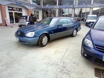 usata Mercedes 600 ClasseSec Cat Tagliandi Certificati Usato