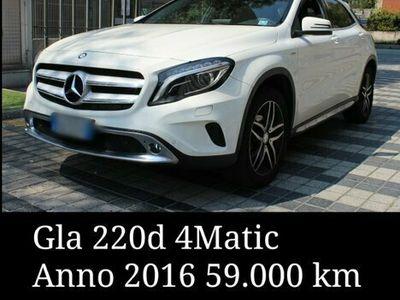 usata Mercedes GLA220 4 Matic