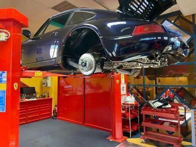 usata Porsche 964 911 3.3 Turbo Coupé RESTAUR0 TOTALE ASI