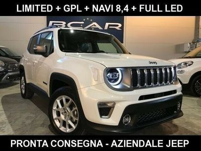 usata Jeep Renegade 1.0 120cv GPL Limited +Full LED+ Navi Grande 8.4