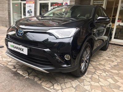 usata Toyota RAV4 2.5 hybrid blu dynamic+ rate e permute