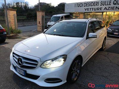 gebraucht Mercedes E300 hybrids.w. bluetec sport elettrica/diesel