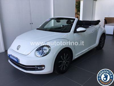 used VW Maggiolino MAGGIOLINOcabrio 1.6 tdi Design 105cv