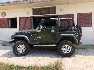 usata Jeep Wrangler 2.5 cat Soft top (EU)