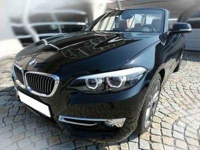 usata BMW 218 Serie 2 d Cabrio Luxury