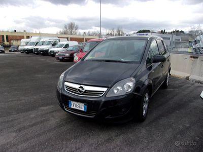 usata Opel Zafira 7 Posti 1.6 Metano 2014
