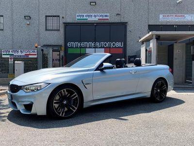 usata BMW M4 Cabriolet DKG M. PACK CERCHI 19 TELECAMERA UFFICIALE!