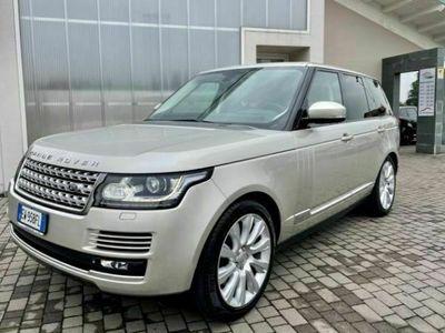 usata Land Rover Range Rover 4.4 SDV8 GANCIO TRAINO UFFICIALE ITALIANA
