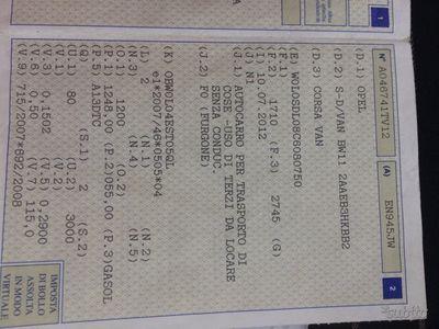 usado Opel Corsavan Corsa 1.2 3 porte Sport