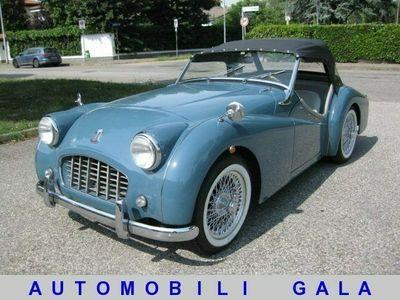 usata Triumph TR3 smallmouth asi oro restauro totale