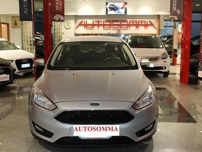 brugt Ford Focus 1.5 TDCi 95 CV BUSINESS ITALIANA 2018 NAVIG