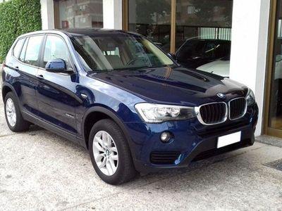 usata BMW X3 xDrive 20d Business Advantage Automatico / Navi