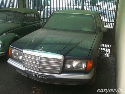 second-hand Mercedes 380 SEL