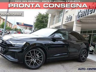 usata Audi Q8 50 TDI Hybrid quattro tiptronic SLine 22 Black S-L