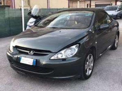 usata Peugeot 307 CC 1.6 GPL Coupe Tec