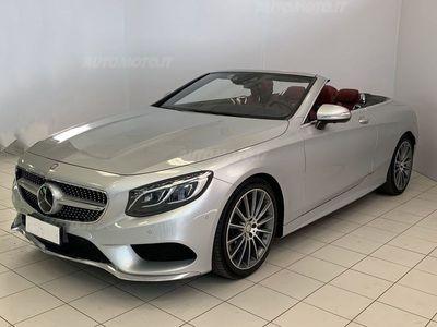 gebraucht Mercedes 500 Classe S CabrioCabrio Maximum del 2016 usata a San Zeno Naviglio