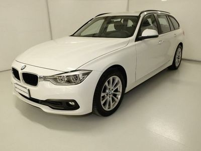 used BMW 318 Serie 3 Touring d Business Advantage aut. del 2016 usata a Asti