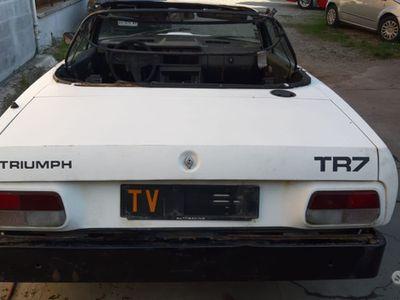 usata Triumph TR7 Spider del 1980