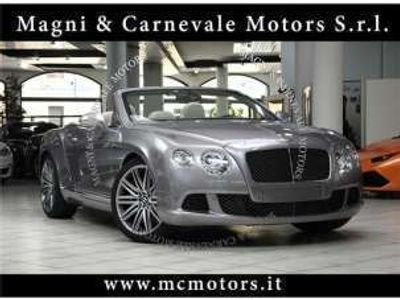 usata Bentley Continental gtc speed - crono service iva esposta benzina